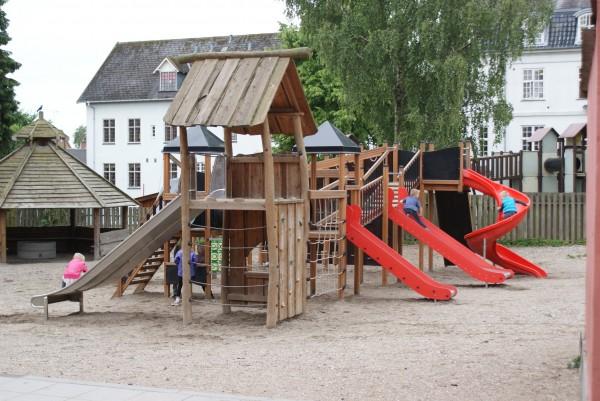plac zabaw dla małych dzieci