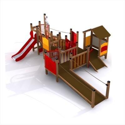 integracyjny plac zabaw dla niepełnosprawych