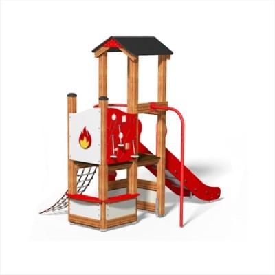 domek zabaw straż pożarna