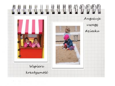 zabawa sensoryczna wspiera kreatywność