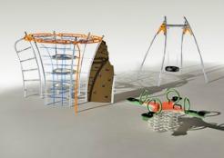 Solaris-nowoczesne zabawki na placu zabaw