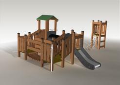 Nature- naturalny i ekologiczny plac zabaw z drewna