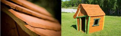 Drewniany plac Zabaw w ogrodzie