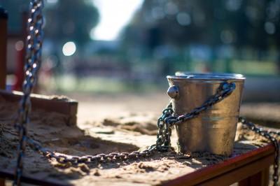urządzenie do zabawy piaskiem i wodą
